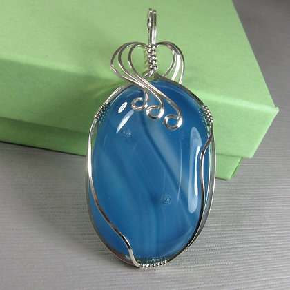 Wire Wrapped Pendant (8/8)