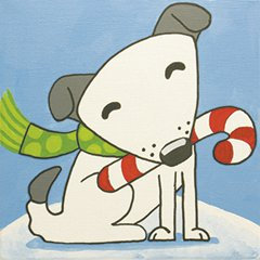 Kids' Paint Party @The Studio: ChristmasPup(12/19)
