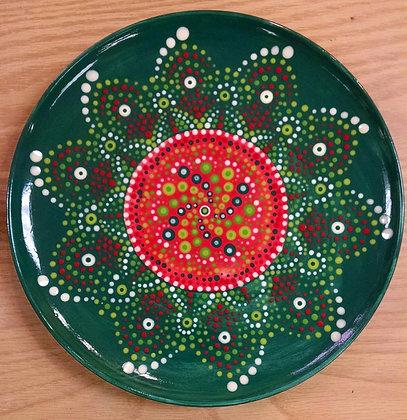 Mandala Wreath Plate (11/10)
