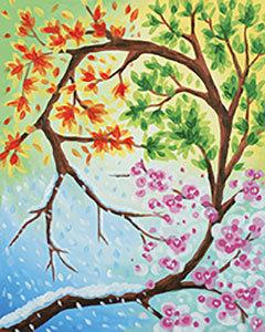 """Changing Seasons"" Paint 'n Sip Fundraiser (9/21)"