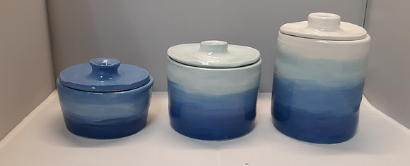 Pottery Wheel Canister Set (4/4)