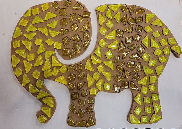 Elephant Mosaic Kit
