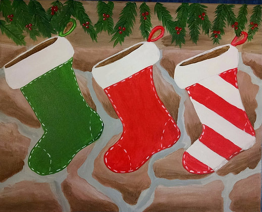 Paint 'n Party at the Bull's Head Inn (12/6)