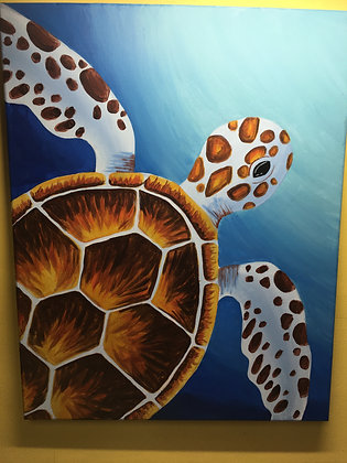 Sea Turtle Family Paint Night at The Studio (9/13)