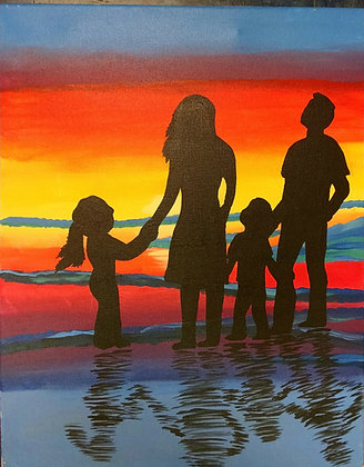 Paint 'n Party @ The Studio: Family Time (8/13)
