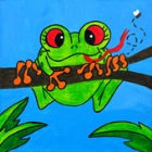 Kids' Paint 'n Party @ The Studio - Frog (11/23)