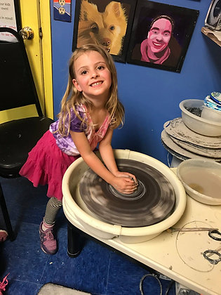 Pottery Wheel Try It (12/2)