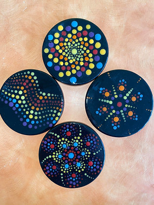 Mandala Coaster Set