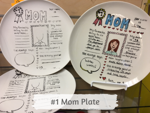 Mother's Day Plates Pottery Kit