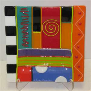 Fused Glass Fun (6/17)