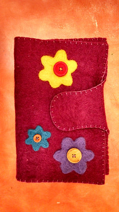 Needle Felted Journal/Book/Cover (8/22)