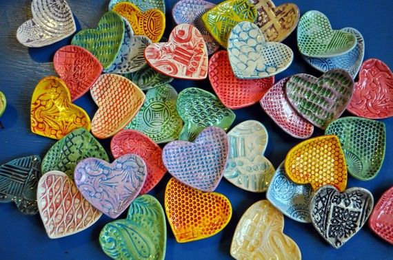 Kids Night Out: Clay Heart Dish (2/8)