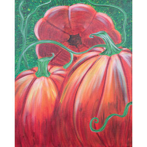 Paint 'n Party @ Apple Barrel: Pumpkin Patch(10/6)