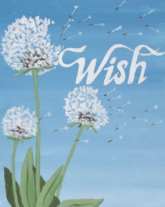 Paint 'n Party @ The Studio: Wish (1/3)