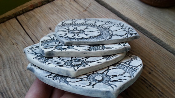 Mothers Day Gift: Essential Oil Coasters (5/7)