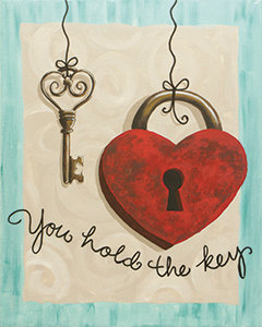 Paint 'n Party @ Coby's: You Hold the Key (2/10)