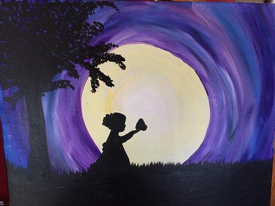 Paint 'n Party @ The Studio - Moonlit Girl (5/26)
