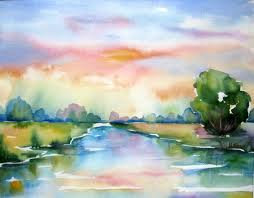 Watercolor Painting Class (5 weeks)