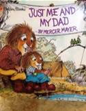 """Parent Tot Story Art """"Just Me and My Dad"""" (9/13)"""