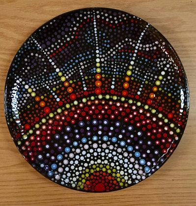 Mandala Sunrise Plate (6/2)