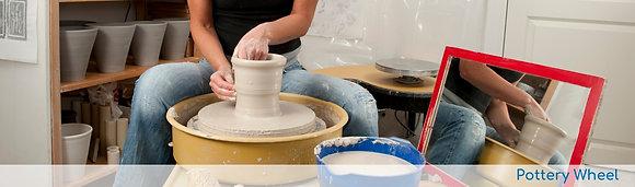 Pottery Wheel Series (starts 3/4 at 6:30pm)