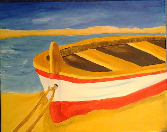 Paint 'n Party @ The Studio - Beached Boat(7/26)