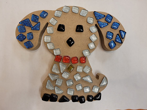 Dog Mosaic Kit