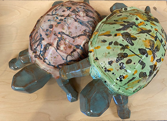 Funky Faceted Turtle (11/14)