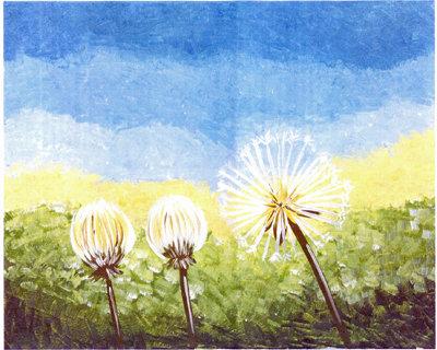 Paint a Picture - Dandelion Trio (9-22)