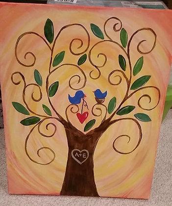 Paint 'n Party @ Bull's Head: Love Grows (1/11)