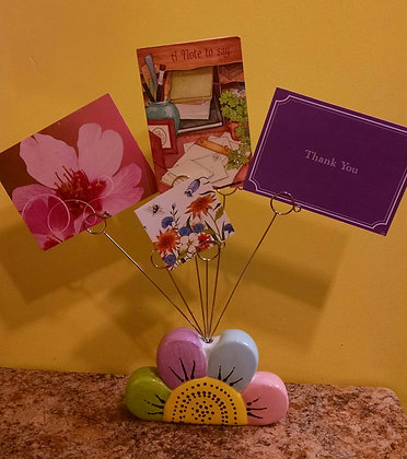 Kids Night Out: Flower Post Card Holder (8/25)