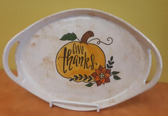 Thanksgiving Tray at Apple Barrel (11/3)
