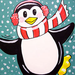 Penguin Day at The Studio! (12/26)