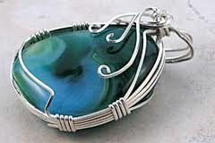 Jewelry Series: Wire Wrapped Pendant (7/31)