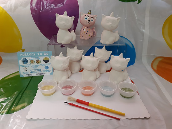 Pottery Painting Party To Go Kit