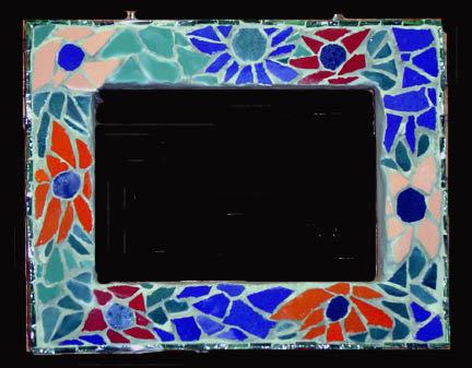 Mosaic Madness Photo Frame (5/23)