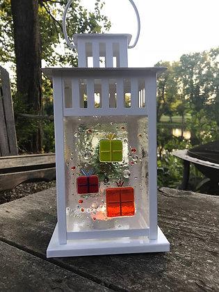 Fused Glass Lantern (11/3)