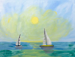 Paint n Party @ The Studio - Day at Sea (6/24)