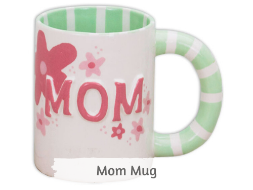 Mother's Day Mugs Pottery Kit
