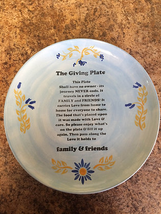 Friday Fabulous: Giving Plate (9/23)