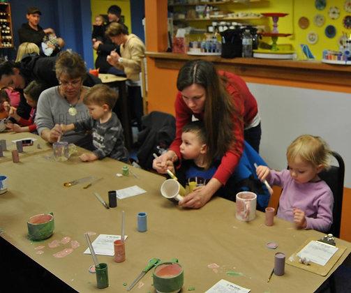 Parent Child Art Class (2/13)