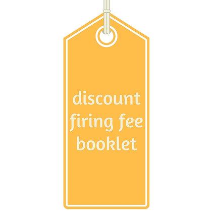 Discount Firing Fee Booklet