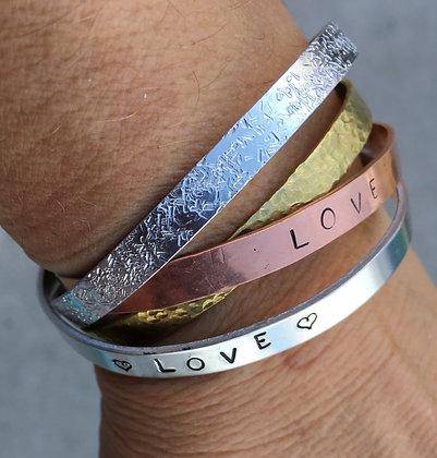 Metal Stamped Bracelet (3/3)