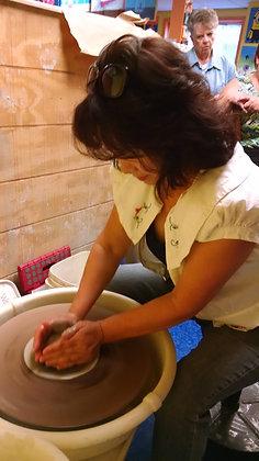 Pottery Wheel Series (April-May 2017)