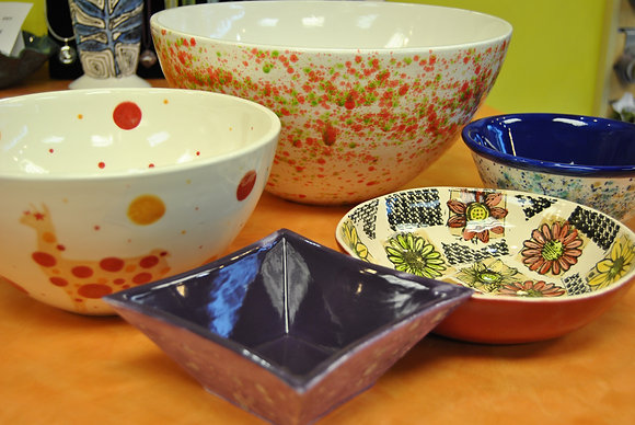 Painting for Empty Bowls (8/3)