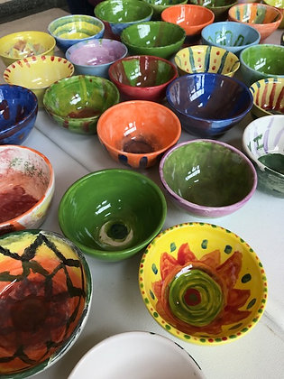 Paint for Empty Bowls (1/26)