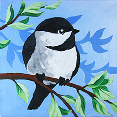 Paint 'n Party @ Apple Barrel: Chickadee (3/15)
