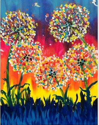 Paint 'n Party @ The Studio - Dottie Flower (3/20)