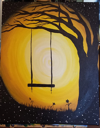 Paint 'n Party @ The Studio: Fall Swing (10/23)