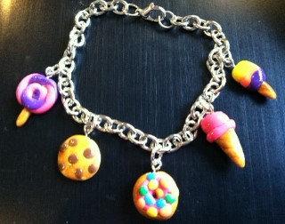 Clay Charm Bracelet (11-29)